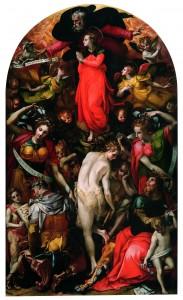 Carlo Portelli, Allegoria della Fortuna o Nemesi, 1565-1566, Tavola, Firenze, F. Guidi Bruscoli.