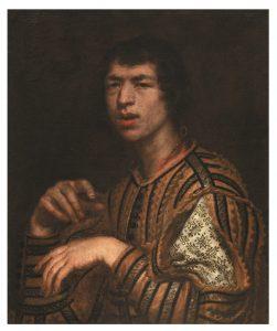 Fig. 3. Justus Sustermans, Ritratto di un buffone (Meo Matto), ante 1640.