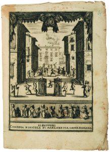 Fig. 24 Margherita Costa, Li buffoni commedia ridicola, 1641