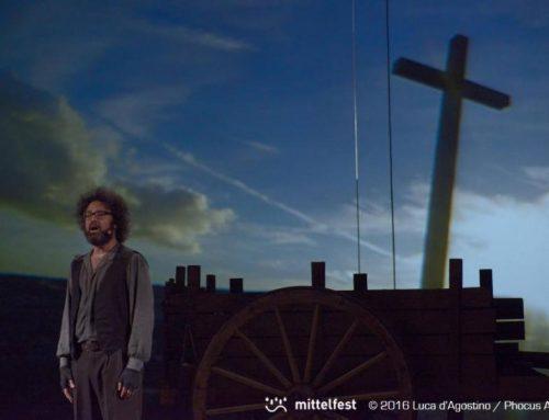 """Simone Cristicchi porta in scena la vita miracolosa di David Lazzaretti, """"Il Secondo Figlio di Dio"""""""