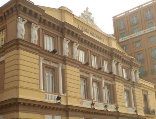 Teatro Mercadante: sigilli per inagibilità