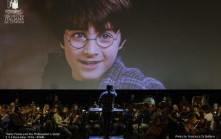 Harry Potter all'arena Flegrea