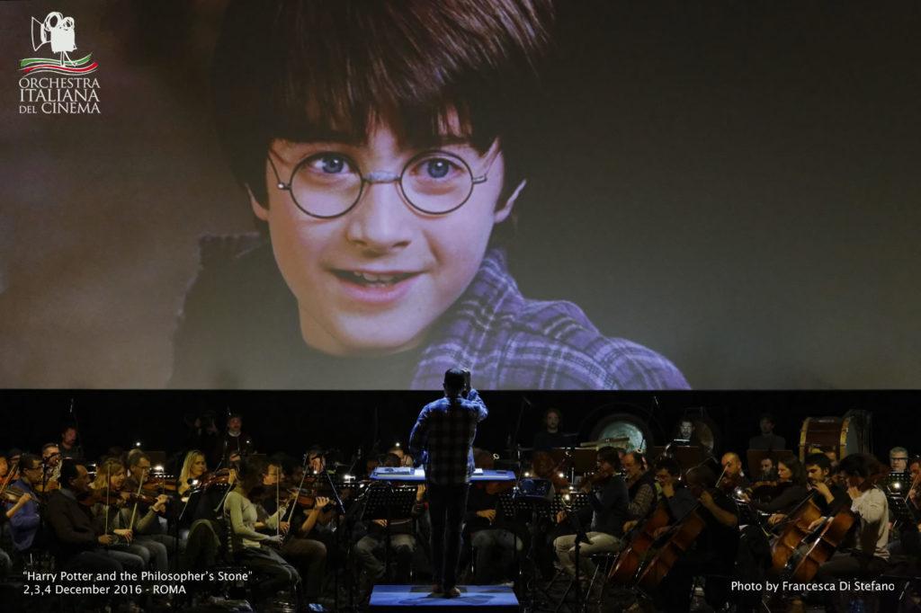Plana sull'Arena Flegrea Harry Potter e la Pietra Filosofale in concerto