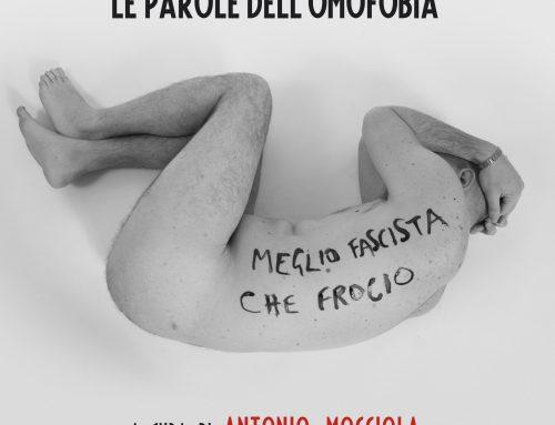 """""""Addosso – Le parole dell'omofobia"""" di Antonio MocciolaPrima nazionale al Teatro Tram di Napoli"""