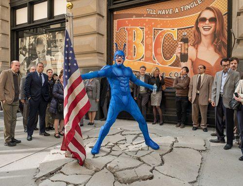 The Tick, il supereroe di Amazon tra avventura e umorismo