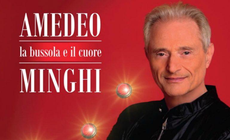"""""""La bussola e il cuore"""": sul palco cinquant'anni di successi di Amedeo Minghi"""