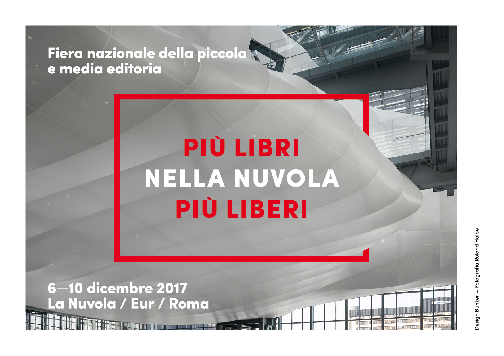 Una nuvola di libri, a Roma, per la Fiera Nazionale della Piccola e Media Editoria