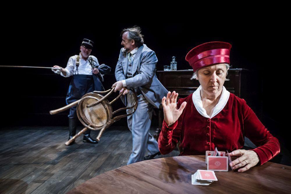 """La danza macabra del matrimonio secondo """"Play Strindberg"""""""