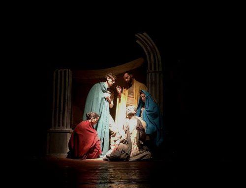 Le Noël de Lucariello, Il te plaît la crèche?/ Te piace 'o presepio ?