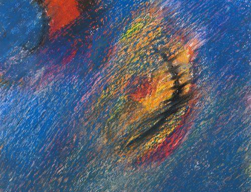Lucio Salzano dipinge l'energia della cittàEsposizione a Roma e a Napoli