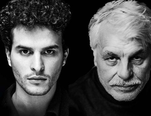 Michele e Brenno Placido in Versiliana con la compagnia EmoX