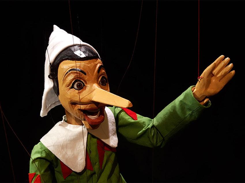 Pinocchio marionetta