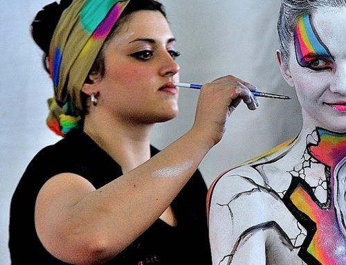 Weronique Art: tele d'autore su pelle