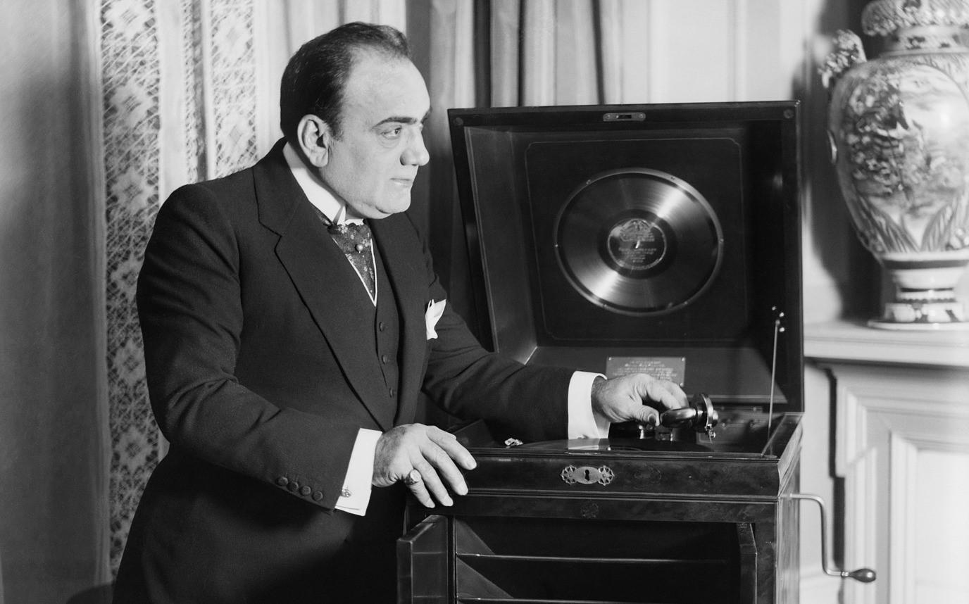 Il tenore Enrico Caruso