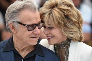 Harvey Keitel e Jane Fonda
