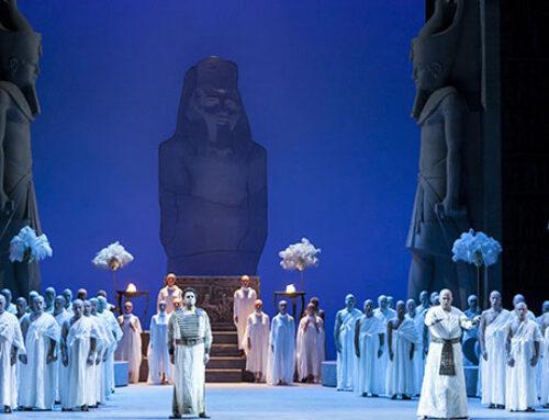 L'Aida al Teatro RegioA Torino si comincia dall'Egitto