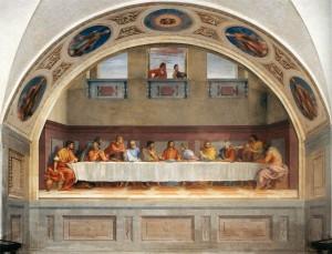 Cenacolo di San Salvi _ affresco di Andrea del Sarto