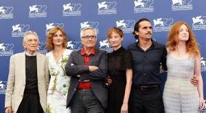 """Marco Bellocchio con il cast di """"Sangue del mio sangue"""""""