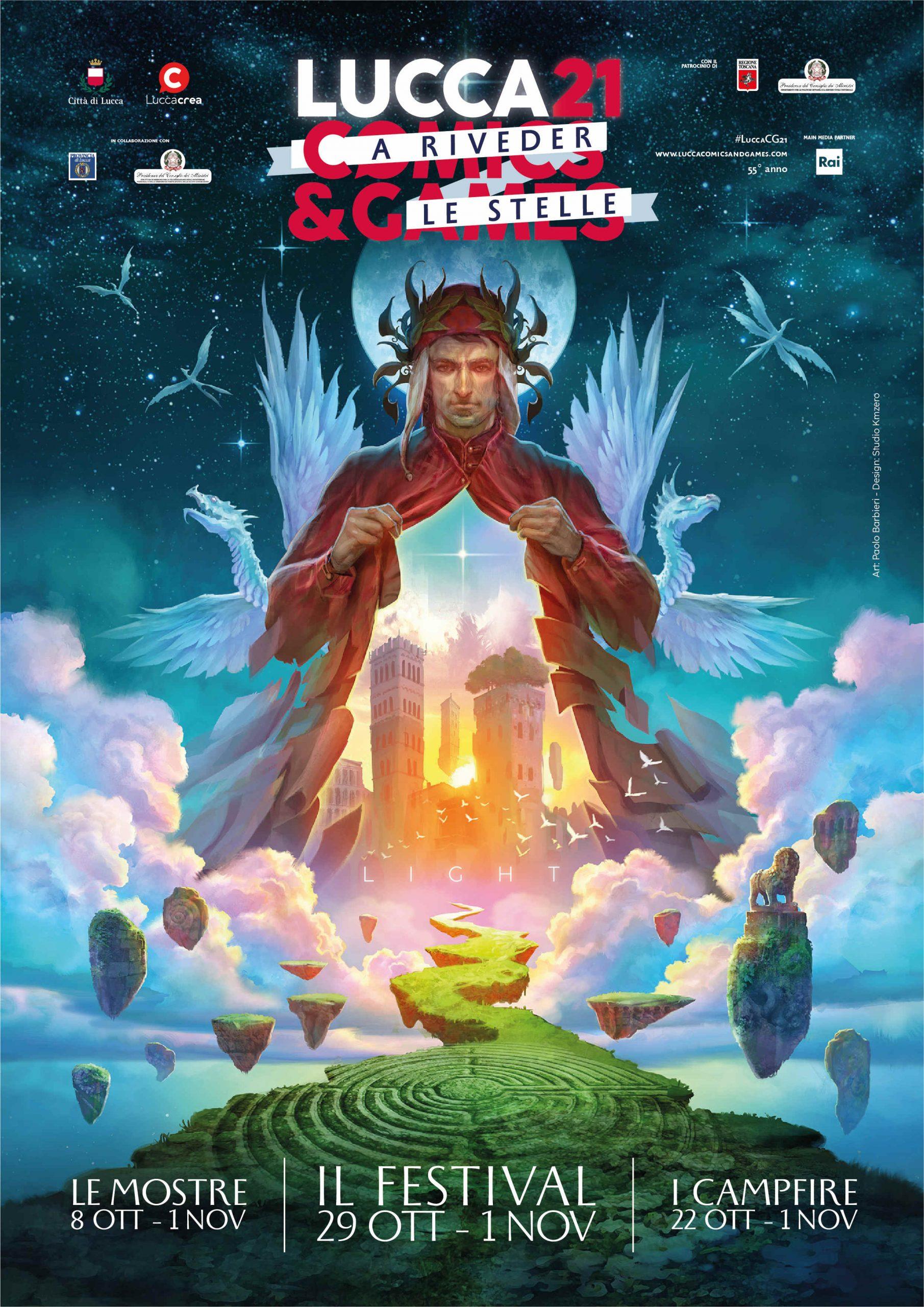 Lucca Comics 2021, presentato l'evento